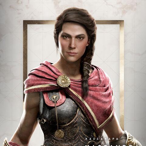Portrait de Kassandra
