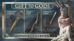 AC Odyssey Spartan Starter Pack