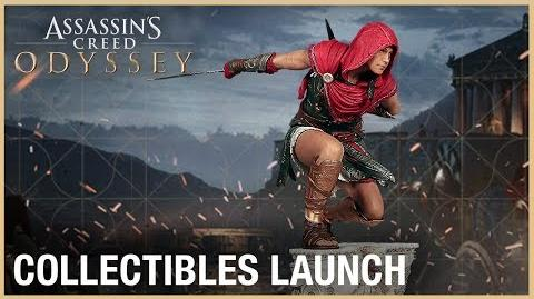 Assassin's Creed Odyssey Collectibles Launch Ubisoft NA