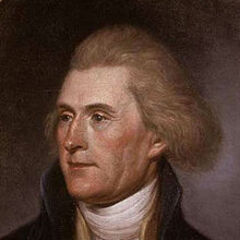 Portrait de <b>Thomas Jefferson</b>