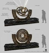 Observatory Armillary Sphere - Concept Art