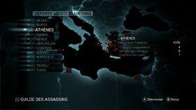 ACR Défense Méditerranéenne Menu Carte