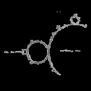 Glyphe-Ensemble de Mandelbrot