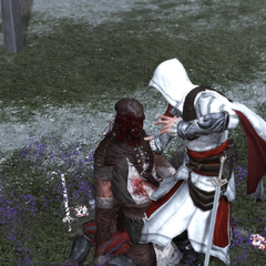 Ezio vermoordt Il Carnefice.