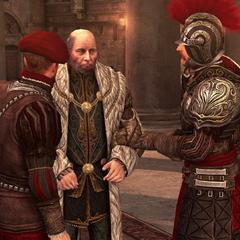 Les gardes épargnant Egidio