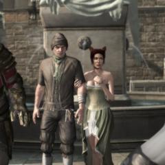 Un Brute bloquant le passage à Ezio