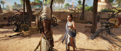 ACO In Protest - Bayek and Europa