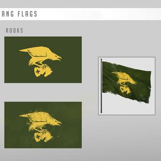 黑鸦帮旗概念图