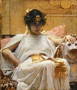Cléopâtre par John William Waterhouse
