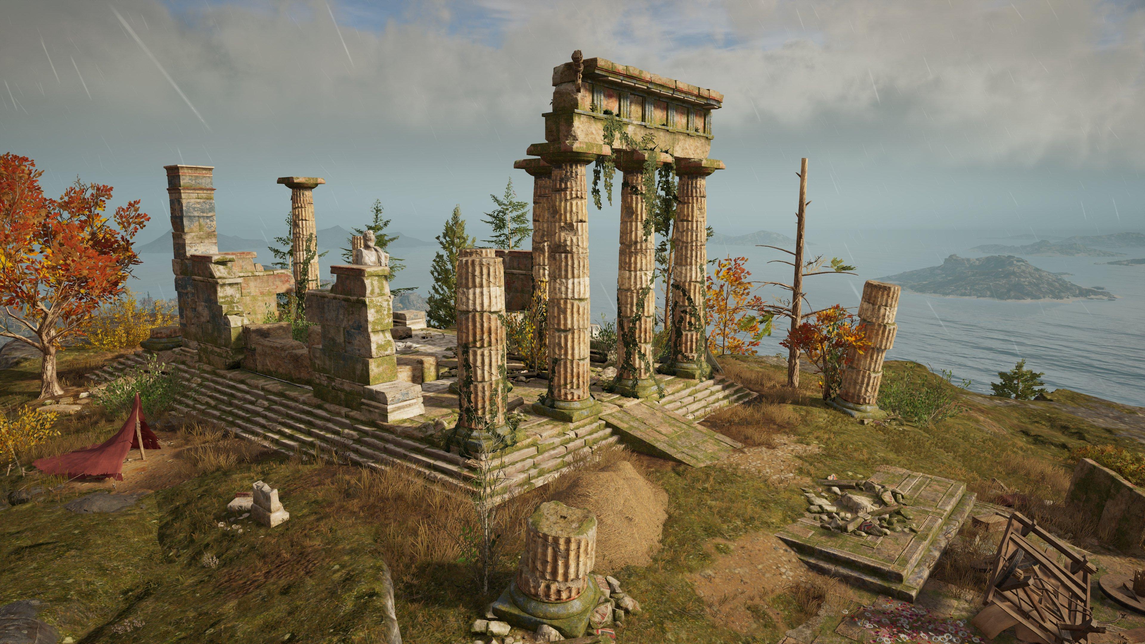 Temple Of Artemis Amarysia Assassin S Creed Wiki Fandom