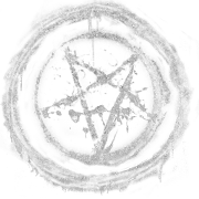 Glyphe-Pentagramme