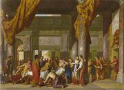 Mark Antony at Cleopatra's Feast - Gerard Hoet