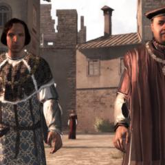<b>Uberto</b> parlant avec Lorenzo