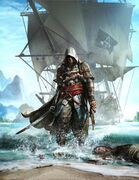 369px-Assassin's Creed 4 Black Flag cover art alternate by TwoDots