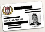 ACOD Alannah Ryan