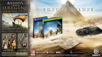 Assassins Creed Origins – edycja Deluxe