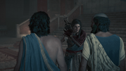 Kassandra furious over Phoibe's death