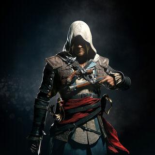 Promo-Bild zur Ankündigung von Assassin's Creed IV Black Flag mit Edward
