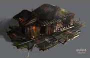 AC3L Swamp Hut - Concept Art