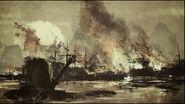ACCC Shao Jun nage port Macao brûle