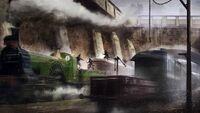 ACS Trapped on a Train - Concept Art