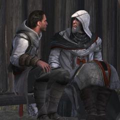达里姆在波罗兄弟离开之后和父亲交谈