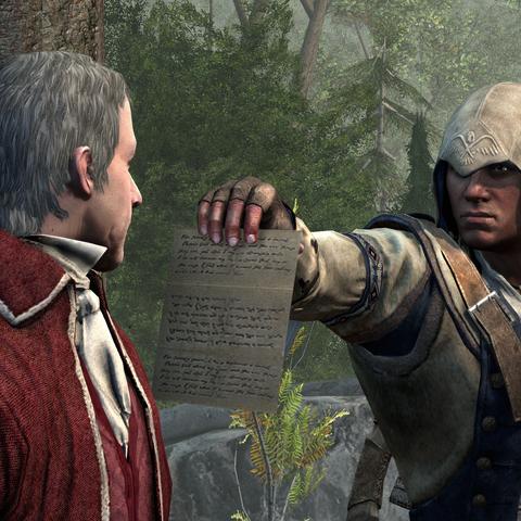 康纳将约翰·帕克的信件转呈给巴雷特