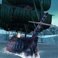 Maintenant naviguez dans les eaux glaciales de l'Arctique