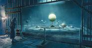 ACU Arno salle maquette système solaire concept