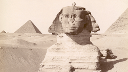 DTAE Sphinx of Giza in the 19th Century