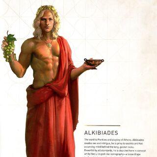 阿爾西比亞狄斯的原設圖