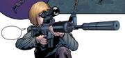 Galina using Sniper rifle