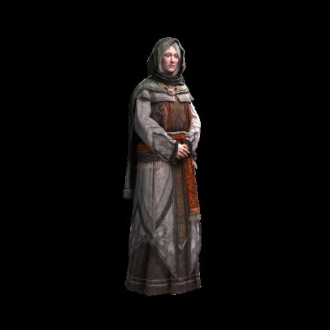 Maria im Alter von ca. 60