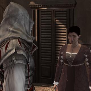 Ezio remettant la seconde lettre