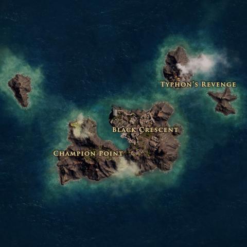 梅洛斯岛的地图