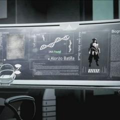 一台正在分析基因记忆的Animus Omega
