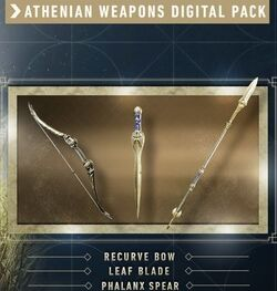 AC Odyssey Athenian Weapons Digital Pack