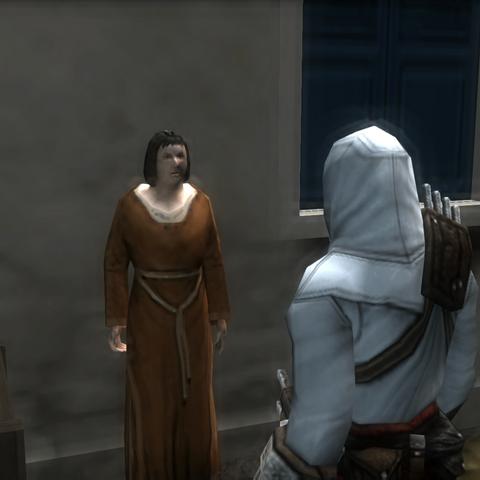 女人告诉阿泰尔叛徒的事