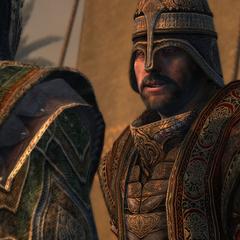 <b>Tarik</b> donne ses ordres à ses hommes