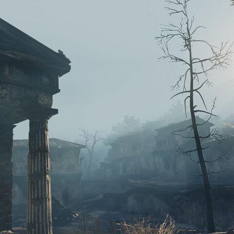 卡乌索斯村的黎明