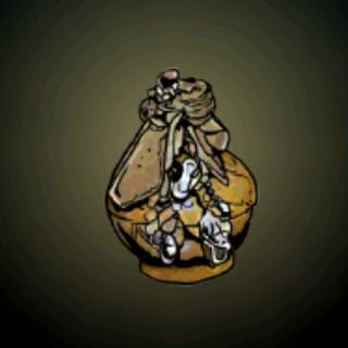 灵魂之瓶 – 在许多时候,被困在典型的巫毒灵魂之瓶中的灵魂通常是有善意的,而且简单的就可以鼓励该灵魂帮持有者做些事情,像是带来运气、爱情或是让恶魔远离。