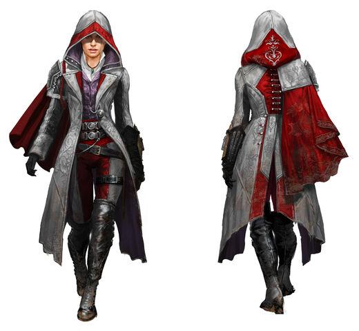 File:ACS Evie Frye Alternate Outfit - Concept Art.jpg