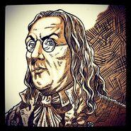 Benjamin Franklin par Fraser