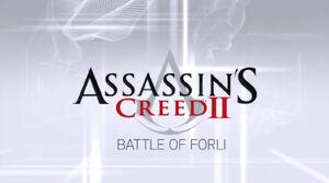 Battle of forli head