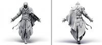 Ezio armor texture model by Michel Thibault