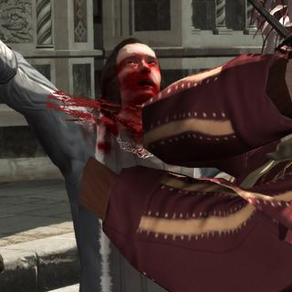 贝尔纳多攻击朱利亚诺·德·美第奇