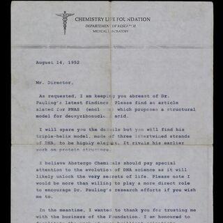 罗森堡的第一封信