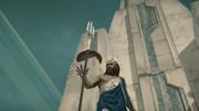 ACOD FoA JoA The Fate of Atlantis - Poseidon dropping his trident