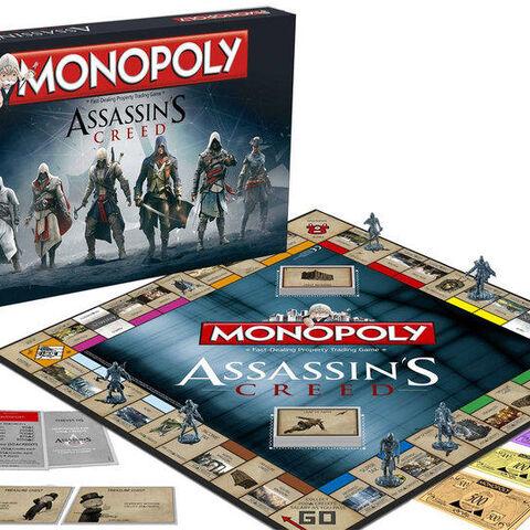 <i>Assassin's Creed: Monopoly</i> box contents