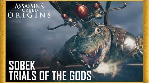 Assassin's Creed Origins Trials of the Gods - Sobek Trailer Ubisoft US